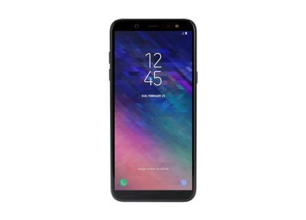 c42ac0701fc73 Смартфон Samsung Galaxy A6 (2018) черный купить недорого в каталоге ...